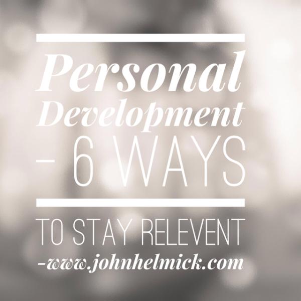 6 Ways Personal Development